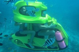 under water scooter